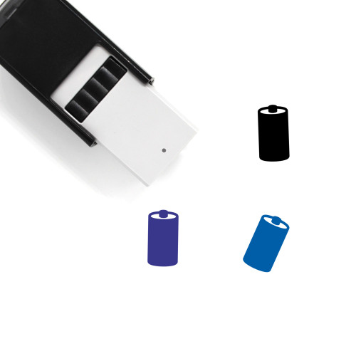 Battery Self-Inking Rubber Stamp No. 341