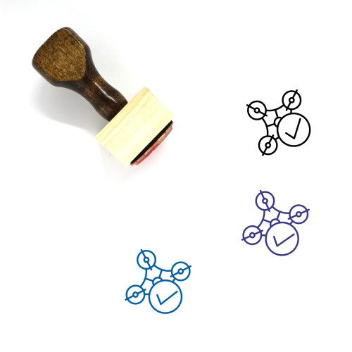 Complete Wooden Rubber Stamp No. 43