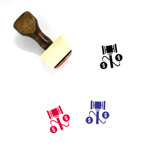 Justice Wooden Rubber Stamp No. 114