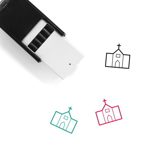 Church Self-Inking Rubber Stamp No. 202