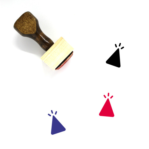 Celebrate Wooden Rubber Stamp No. 32