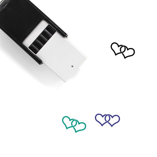 The Lovers Self-Inking Rubber Stamp No. 1
