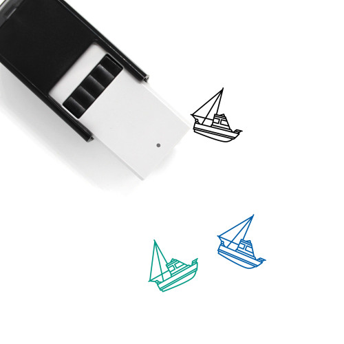 Trawler Self-Inking Rubber Stamp No. 3