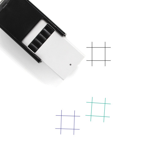 Artboard Self-Inking Rubber Stamp No. 30