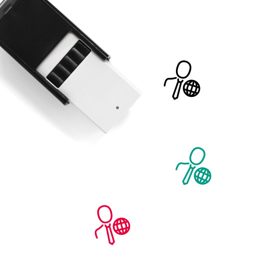 Business User Self-Inking Rubber Stamp No. 1