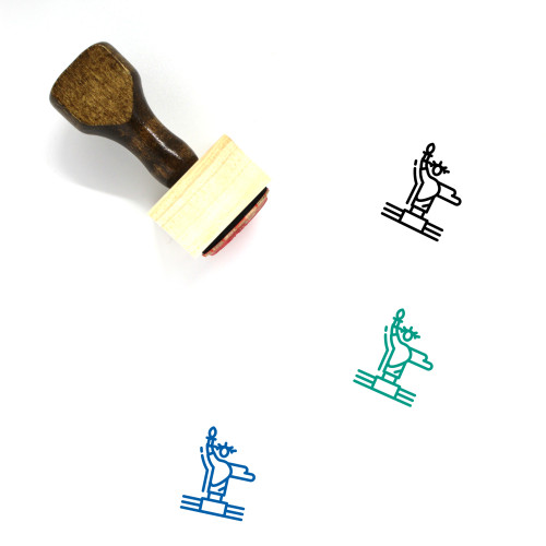 Statue Of Liberty Wooden Rubber Stamp No. 47