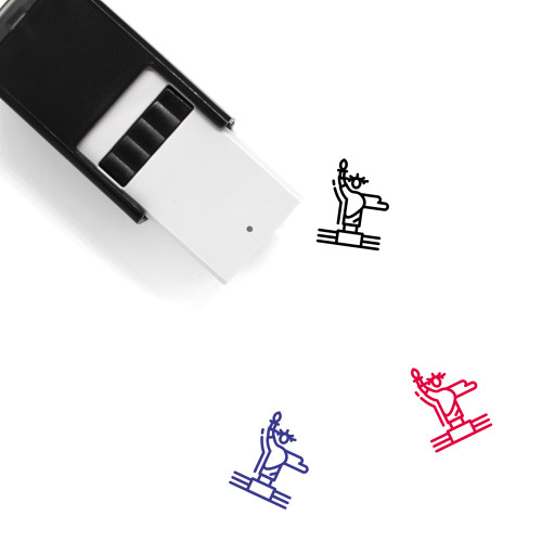 Statue Of Liberty Self-Inking Rubber Stamp No. 47