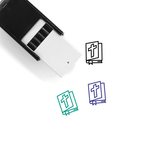 Bible Self-Inking Rubber Stamp No. 82