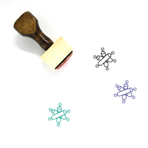 Dynamite Wooden Rubber Stamp No. 28