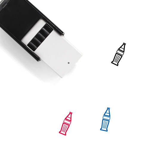 Bottle Self-Inking Rubber Stamp No. 188