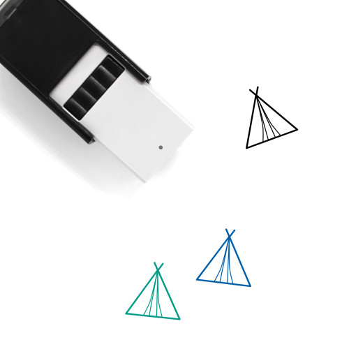 Tent Self-Inking Rubber Stamp No. 70