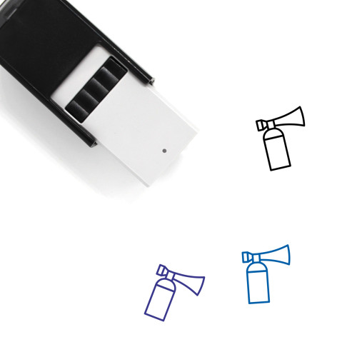 Air Horn Self-Inking Rubber Stamp No. 5