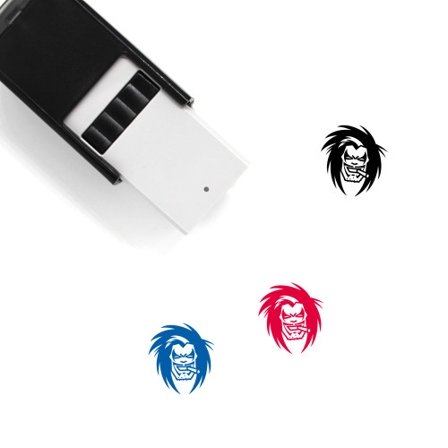 Lobo Self-Inking Rubber Stamp No. 1