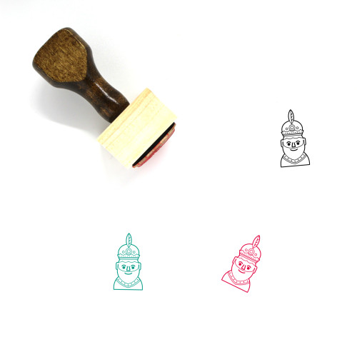 Three Kings Wooden Rubber Stamp No. 3