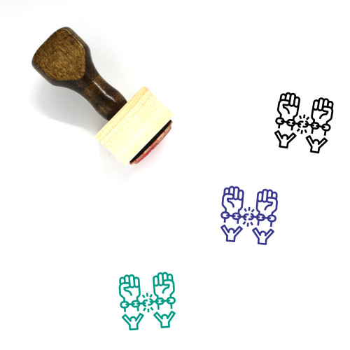 Freedom Wooden Rubber Stamp No. 25