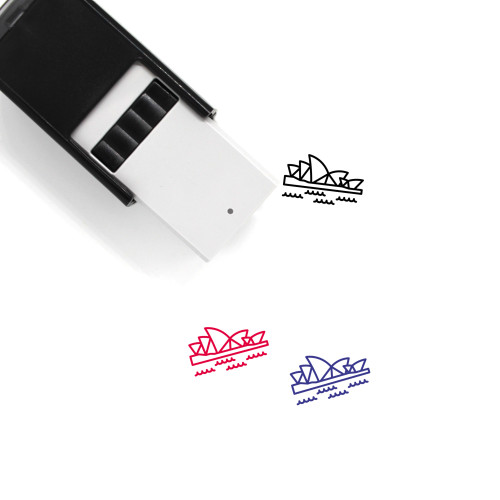 Sydney Opera House Self-Inking Rubber Stamp No. 20