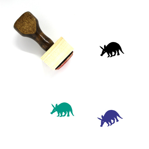 Aardvark Wooden Rubber Stamp No. 1