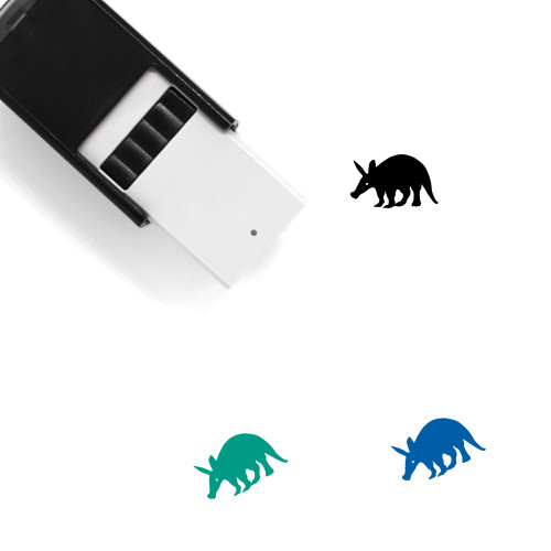 Aardvark Self-Inking Rubber Stamp No. 1