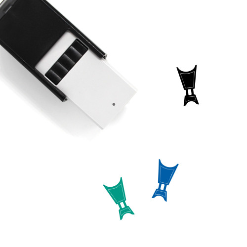 Fumigation Self-Inking Rubber Stamp No. 1