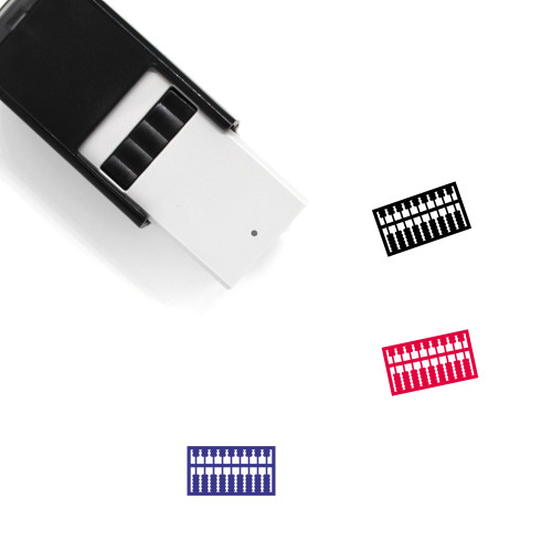 Abacus Self-Inking Rubber Stamp No. 19