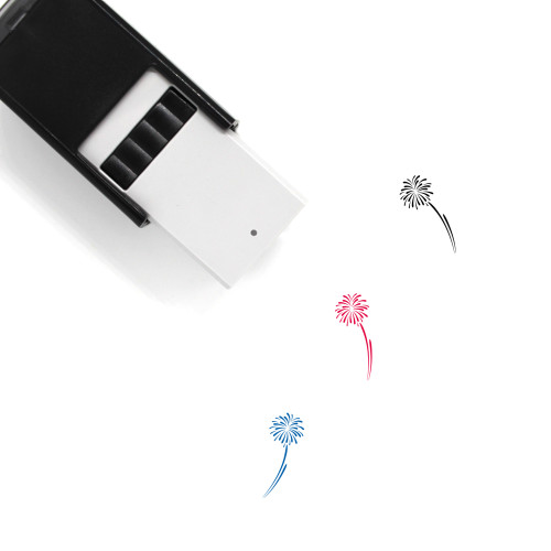 Fireworks Self-Inking Rubber Stamp No. 117