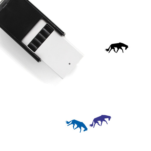 Horse Self-Inking Rubber Stamp No. 47