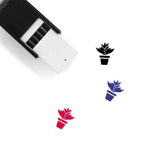 Bird Of Paradise Self-Inking Rubber Stamp No. 2