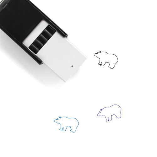 Bear Self-Inking Rubber Stamp No. 105