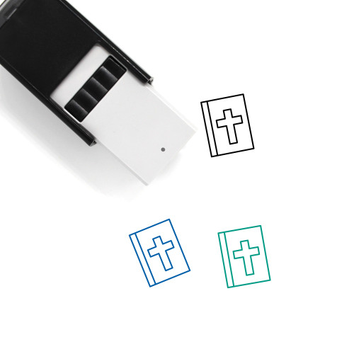Bible Self-Inking Rubber Stamp No. 83