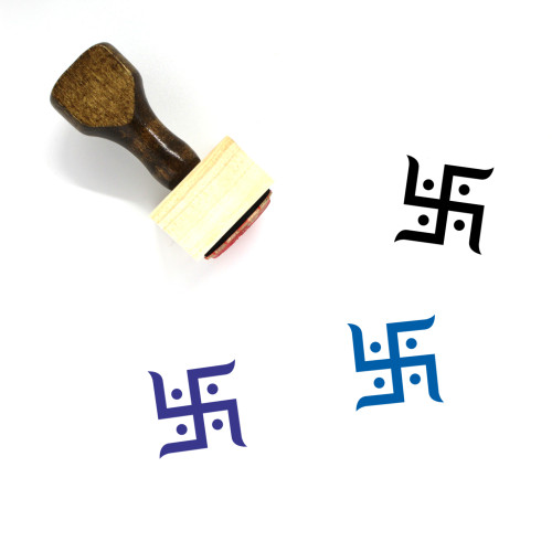 Buddhism Wooden Rubber Stamp No. 1