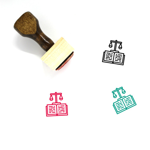 Constitution Wooden Rubber Stamp No. 9