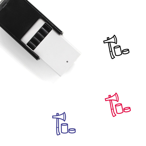 Axe Self-Inking Rubber Stamp No. 96