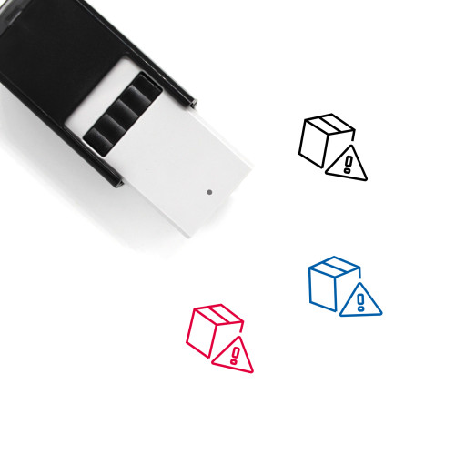 Box Self-Inking Rubber Stamp No. 149