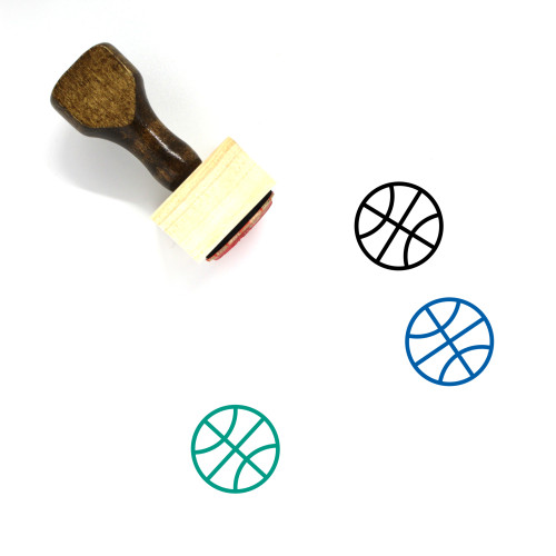 Sport Wooden Rubber Stamp No. 69