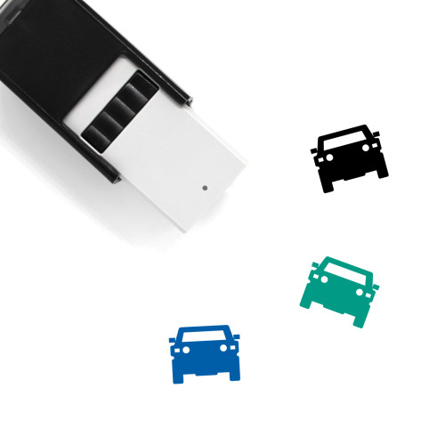 Car Self-Inking Rubber Stamp No. 331