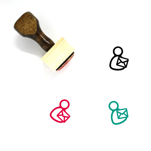 Mail Wooden Rubber Stamp No. 149