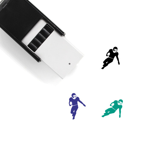 American Football Self-Inking Rubber Stamp No. 49