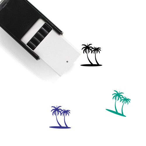 Palm Self-Inking Rubber Stamp No. 134