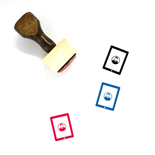 User Wooden Rubber Stamp No. 137