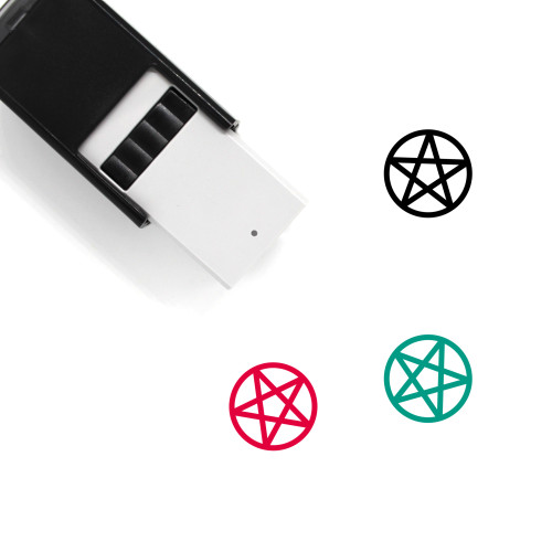 Pentacle Self-Inking Rubber Stamp No. 1