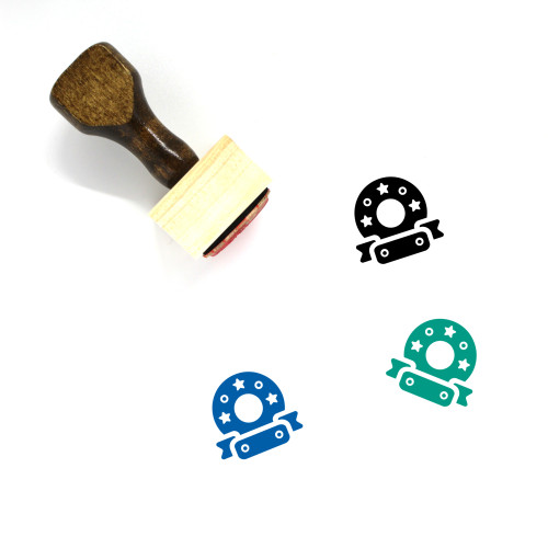 Decoration Wooden Rubber Stamp No. 233