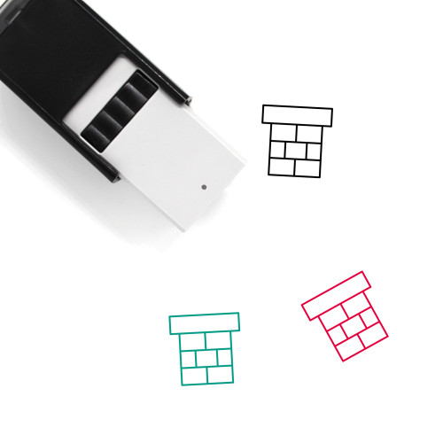 Chimney Self-Inking Rubber Stamp No. 51