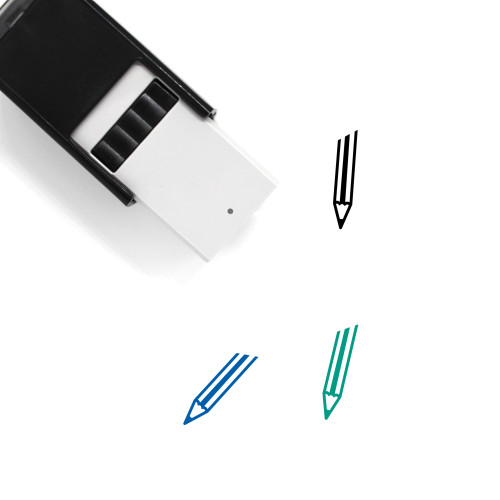 Pencil Self-Inking Rubber Stamp No. 140
