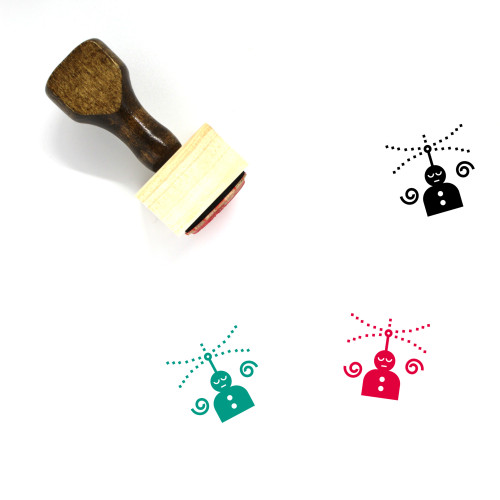 Perception Wooden Rubber Stamp No. 3