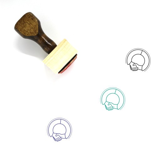 Admission Wooden Rubber Stamp No. 18