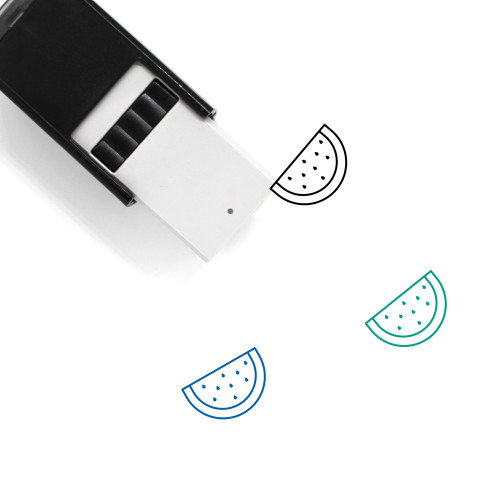 Watermelon Self-Inking Rubber Stamp No. 77
