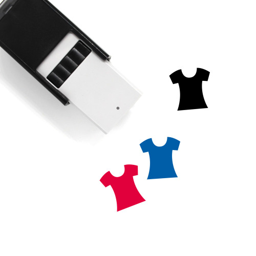 T Shirt Self-Inking Rubber Stamp No. 120