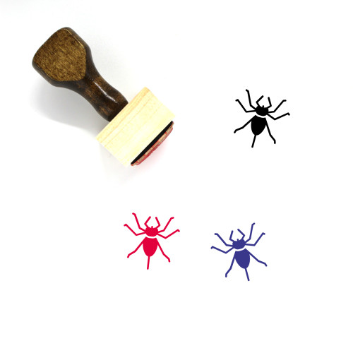 Whip Scorpion Wooden Rubber Stamp No. 1