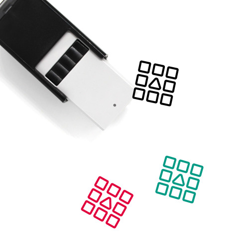 Differentiation Self-Inking Rubber Stamp No. 1
