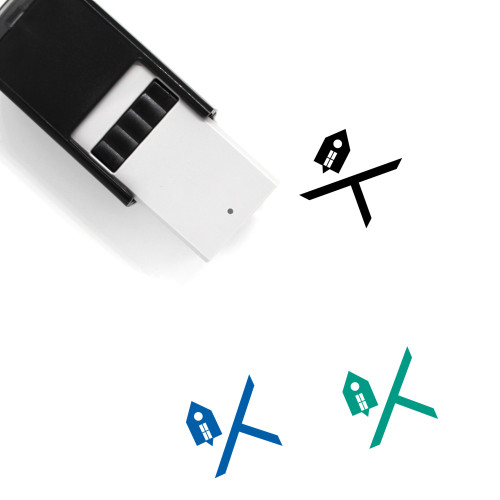 Address Self-Inking Rubber Stamp No. 1